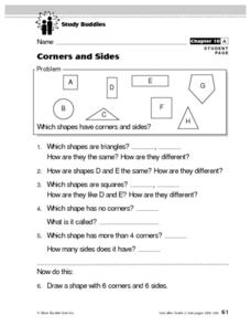 Corners and Sides Lesson Plan