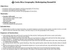 Costa Rica Geography: Redesigning Room#16 Lesson Plan