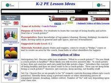 Couch Potato Lesson Plan