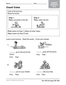 Count Coins ELL 14.3 Worksheet
