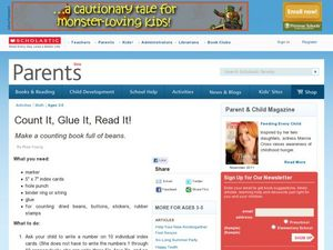 Count it, Glue it, Read it! Lesson Plan