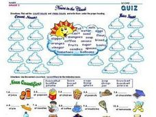 Count Nouns, Mass Nouns, and Noun Quantifiers Worksheet