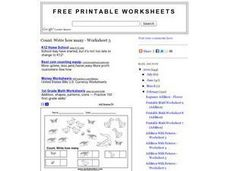 Count the Animals Worksheet