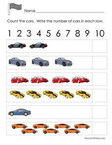 Count the Cars Lesson Plan