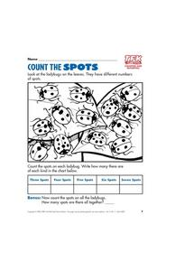 Count the Spots Lesson Plan