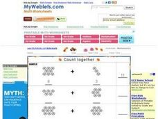Count Together #4 Worksheet