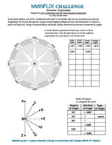Countdown Challenge: Geometry Exploration Worksheet