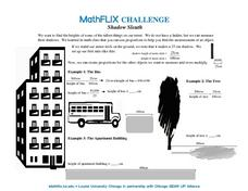 Countdown Challenge: Shadow Sleuth Worksheet