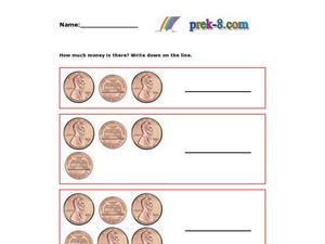 Counting Coins 3 Worksheet