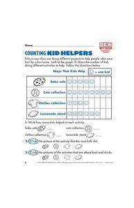 Counting Kid Helpers Lesson Plan