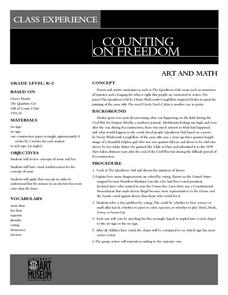 Counting On Freedom Lesson Plan