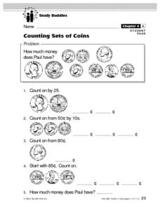 Counting Sets of Coins Lesson Plan