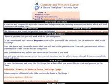 Country and Western Dance Lesson Plan