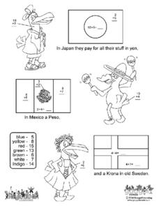 Country Flags Worksheet