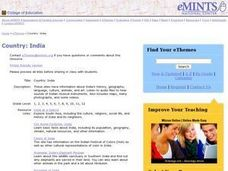 Country: India Lesson Plan