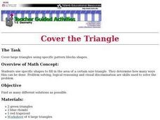 Cover the Triangle Lesson Plan