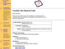 Crackin' the Musical Code Lesson Plan