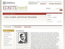 Crane, London, and Literary Naturalism Lesson Plan