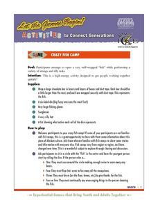 Crazy Fish Camp Lesson Plan