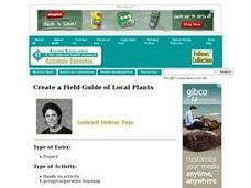 Create a Field Guide of Local Plants Lesson Plan