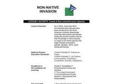 Create a Non-native/Invasion Species Lesson Plan