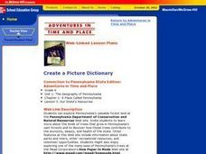 Create a Picture Dictionary Lesson Plan