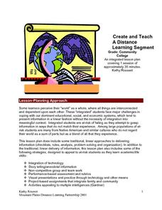 Create And Teach A Distance Learning Segment Lesson Plan