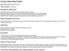 Create Your Own Cloud Lesson Plan