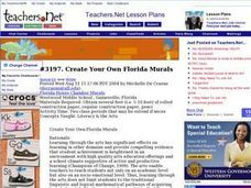 Create Your Own Florida Murals Lesson Plan