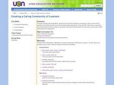 Creating a Caring Community of Learners Lesson Plan