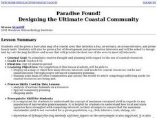 Creating a Coastal Area Lesson Plan