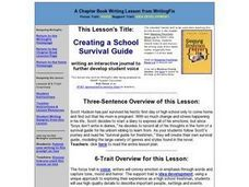 Creating a School Survival Guide Lesson Plan
