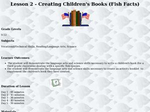 Creating Children's Books Lesson Plan