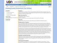 Creating Country Connections Lesson Plan