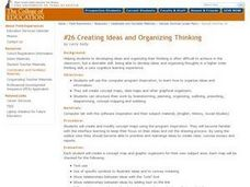 Creating Ideas and Organizing Thinking Lesson Plan