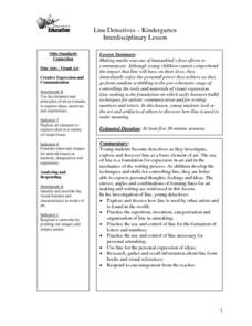 Creating Lines Lesson Plan