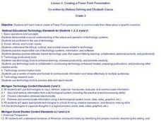Creating Powerpoint Presentations Lesson Plan