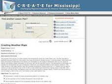 Creating Weather Maps Lesson Plan