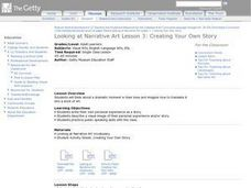Creating Your Own Story Lesson Plan