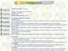 Creative Collage Lesson Plan