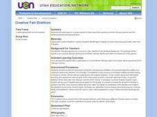 Creative Fair: Biathlon Lesson Plan