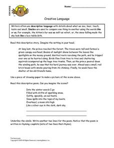 Creative Language Lesson Plan
