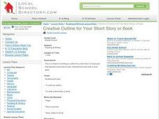 Creative Outline for Your Short Story or Book Lesson Plan