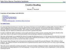 Creative Reading Lesson Plan