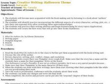 Creative Writing: Halloween Theme Lesson Plan