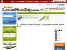 Creative Writing With Harris Burdick Lesson Plan