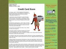 Credit Card Scare Lesson Plan
