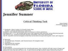 Annenberg Classroom   Critical Thinking Lesson Plans Research paper title page apa   FC