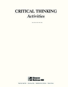 critical pondering to get serving experts your talents founded workbook