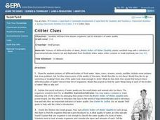 Critter Clues Lesson Plan